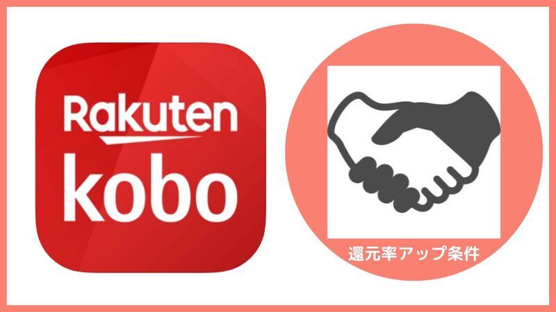 楽天koboのポイント還元率アップの条件
